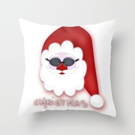 Christmas Santa CB Throw Pillow