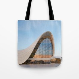 Zaha H A D I D | architect | Heydar Aliyev Center Tote Bag