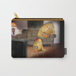 Father And Son Couch Potatoes Carry-All Pouch