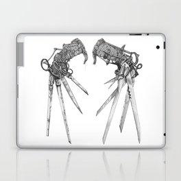 Scissorhands (BnW) Laptop & iPad Skin
