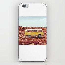 yellow Camper iPhone Skin
