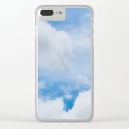 Partly Cloudy Clear iPhone Case