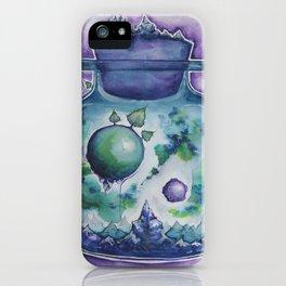 Galaxy in a Bottle iPhone Case