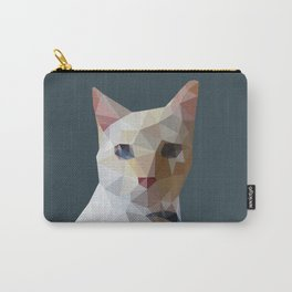 Geometric cat Lucifur Carry-All Pouch