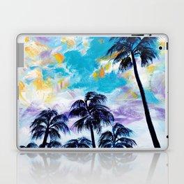 Oceanside Palm Trees Laptop & iPad Skin
