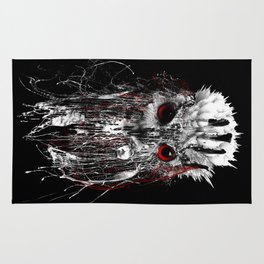 OWL - RED EYE Rug