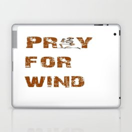 Kitesurfers Pray for Wind Laptop & iPad Skin