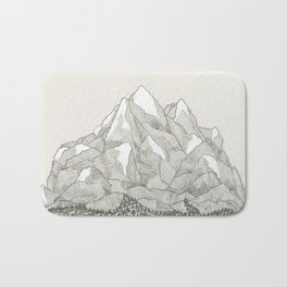 The Mountains and the Woods Bath Mat