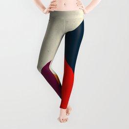 Geometric abstract Leggings