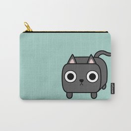Cat Loaf - Grey Kitty Carry-All Pouch