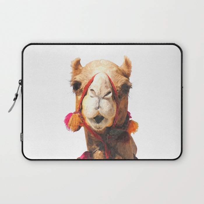 Camel Portrait Laptop Sleeve