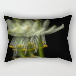 Blurring the flower Rectangular Pillow