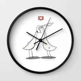 That's Ducking Love Wall Clock