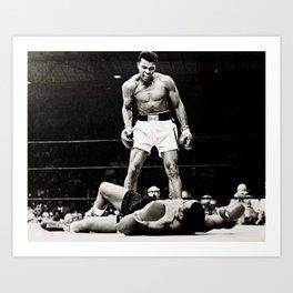 The Great Boxer Art Print