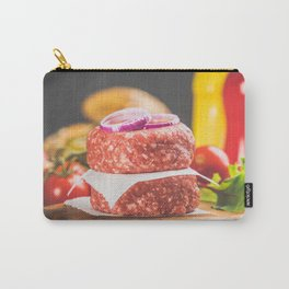 Homemade hamburgers Carry-All Pouch