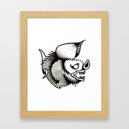 Little Bat Framed Art Print