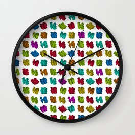 Rainbow 3D LOVE Iconic design Wall Clock