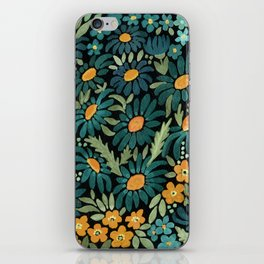 Watercolor . Chamomile field. 2 iPhone Skin