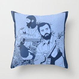 Avett Bros Throw Pillow