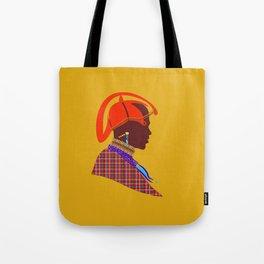 kenyan massai warrior zolliophone Graphic Design artwork Tote Bag