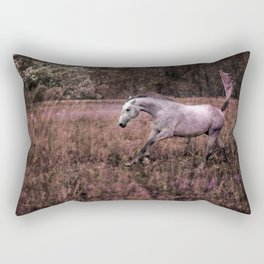 Running free Rectangular Pillow