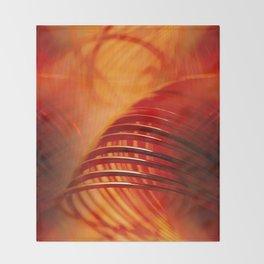 Retro Abstract Throw Blanket
