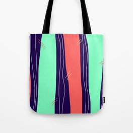 Tall Rivers Flow Endlessly, Seeking An Unattainable Outflow Tote Bag