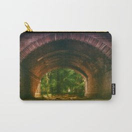 Railroad Track Through The Tunnel Carry-All Pouch