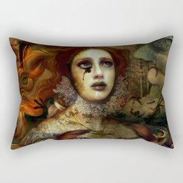 The Demon is hidden Rectangular Pillow