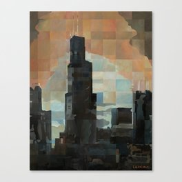 Sears at Sunrise Canvas Print