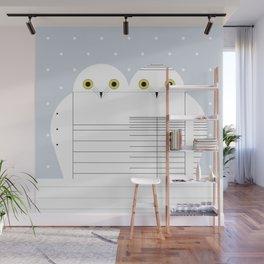 Snowy Owls Wall Mural