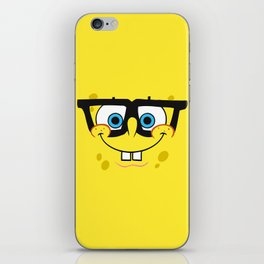 Spongebob Nerd Face iPhone Skin