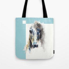Horse Drawing Alerte V Tote Bag