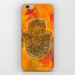 Sunrise Hamsa iPhone Skin