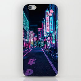 A Neon Wonderland called Tokyo iPhone Skin