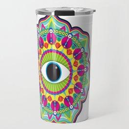 Eye Mandala Travel Mug