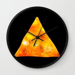 Space nacho Wall Clock