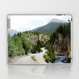 Following the Ore Bucket Tramway from the Mayflower Mill to the Mayflower Mine Laptop & iPad Skin