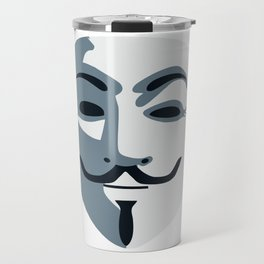 Anonymous Mask #society6 #decor #buyart #artprint Travel Mug