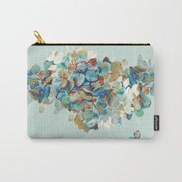SEAFOAM Hortensia Carry-All Pouch