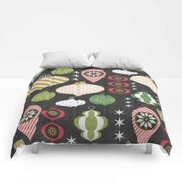Christmas Vintage Ornaments Comforters
