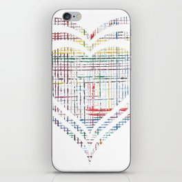 The System - heart iPhone Skin