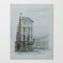 The Viaduct Tavern,  London. Canvas Print