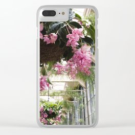Medinilla Magnifica - botanical photography Clear iPhone Case