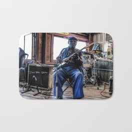 Blues Man Bath Mat