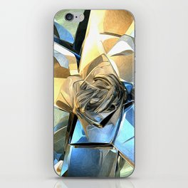Abstract Macro Structure iPhone Skin