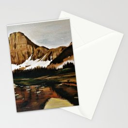 lakefront views Stationery Cards