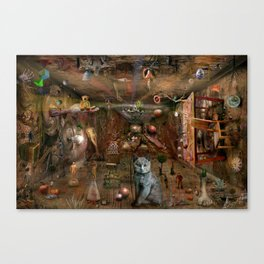 Dream space Chaos Canvas Print