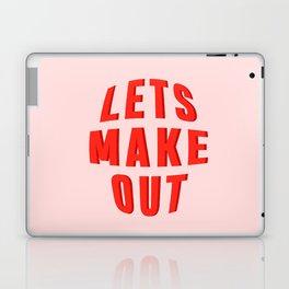 LETS MAKE OUT Laptop & iPad Skin