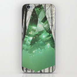 Emerald in the Trees iPhone Skin